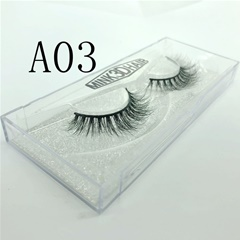 Wholesale Luxury Custom Eyelash Packaging 3D Mink Lashes Private Label Eyelashes