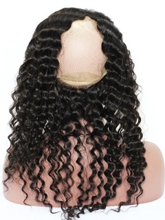 Natural Hairline Lace Front Wigs | Deep Wave Hair | Deep Wave Peruvian Hair