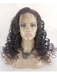 Human Hair Wigs 8A Loose Wave Curly Glueless Full Lace Human Hair Wigs For Black Women 130% Brazilian Virgin Hair Wig