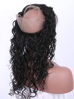 Water Wave Hair | Frontal Lace Closure | Peruvian Hair | Lace Front Wigs