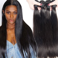 Peruvian Virgin Hair Straight 4 Bundles Unprocessed Peruvian Human Hair Weave Kason Hair Straight Human Hair