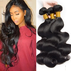 Unprocessed Peruvian Virgin Hair Body Wave 100% Human Hair Extensions 3Bundles Peruvian Hair Weave Bundles