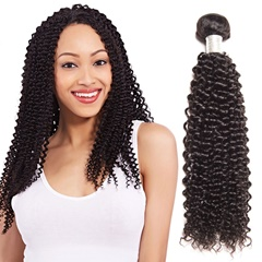 Brazilian Virgin Hair Kinky Curly 100% Unprocessed Human Hair Weave Bundles Hair Weaving Free Shipping 8-30Inch