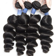 Peruvian Virgin Hair Loose Wave 4Pcs/Lot 100% Peruvian Human Hair Unprocessed Natural Color 8-28 Inch Free Shipping