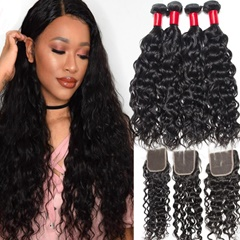 Raw Indian Hair | Indian Hair Bundles | Water Wave Hair | Indian Wavy Hair