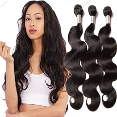 Promotion Peruvian Virgin Hair Body Wave No Tangle No Shedding Unprocessed Peruvian Human Hair Weave 3Bundles/Lot