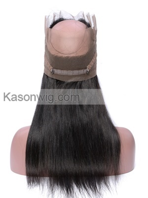 Peruvian Straight Hair 360 Lace Frontal Closure Peruvian Human Virgin Hair Full Lace Frontal Closure Natural Hairline