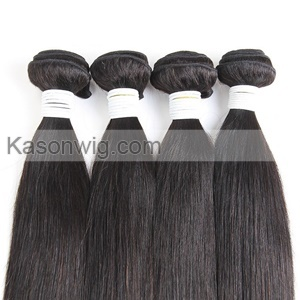 "Straight 1 Piece Lace Top Closure And Hair Bundle 100% Brazilian Virgin Hair Weft 8""-30"" Free shipping"