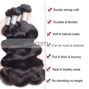 "Body Wave 1 Piece Lace Top Closure And 3Pcs Hair Bundle 100% Brazilian Virgin Hair Weft 8""-30"" Free shipping By DHL"