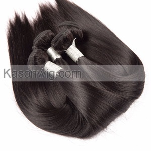 360 Lace Frontal With Bundles 3 Bundles Brazilian Straight Hair With Closure Brazilian Virgin Hair Straight Pre Plucked 360 Frontal