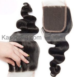Indian Loose Wave Virgin Hair With Closure Best Quality Human Hair Weave 3 Bundles With Lace Closure Indian Virgin Hair