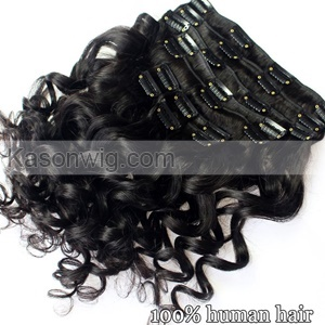 Human Hair Clip In Extensions Brazilian Loose Wave Clip In Human Hair Extensions African American Brazilian Virgin Hair Clip In