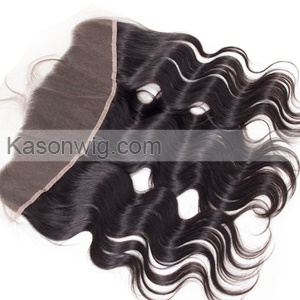 Lace Frontal Closure With 3 Bundles Peruvian Virgin Haor Body Wave 13X4 Ear To Ear Lace Frontal With 100% Human Hair