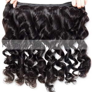 Peruvian Loose Wave Lace Frontal With Bundles Peruvian Human Hair 3 Bundles With Frontal Closure Grade 8A Virgin Hair