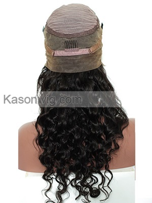 Loose Wave 360 Lace Frontal Wigs Pre Plucked Brazilian Human Remy Hair Bleached Knots 8-22 Inch Lace Front Wigs