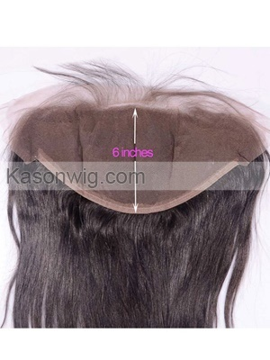 13x6 Lace Frontal Bleached Knots Straight Brazilian Virgin Hair Ear To Ear Lace Frontals Closure With Baby Hair Free Shipping