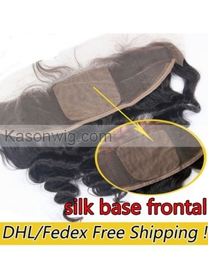 Ear to Ear Best Silk Base Frontal With Baby Hair 8A Silk Top Lace Front 13x4 Malaysian Loose Wave Silk Base Lace Frontal