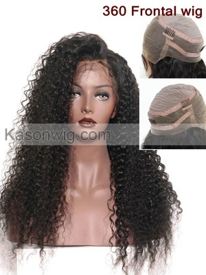 360 Lace Front Wig Human Hair Peruvian Curly Lace Front Human Hair Wigs With Baby Hair Virgin Peruvian Hair 360 Lace Frontal Wig Free Shipping