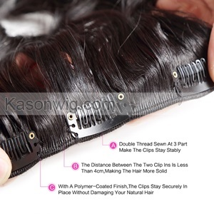 Full Smaller Kinky Curly Clip In Human Hair Extenisons Peruvian Human Tight Kinky Curly Clip In Extensions For Black Women African American