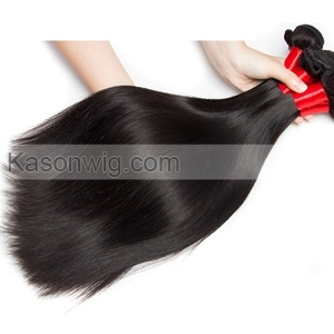 Straight Human Hair Silk Base Closure With 4Bundles Indian Remy Straight Hair Can Be Colord Indian Virgin Hair Bundles With Closure Free Shipping
