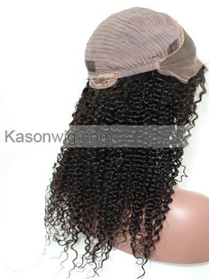Kinky Human Hair Lace Front Wigs Peruvian Kinky Curly Human Hair Wig With Baby Hair Afro Kinky Curly Human Hair Wig Higher Density Full Thick