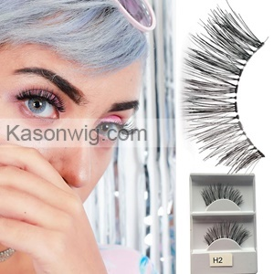 New style hot selling hand made real human hair natural 3d eyelashes