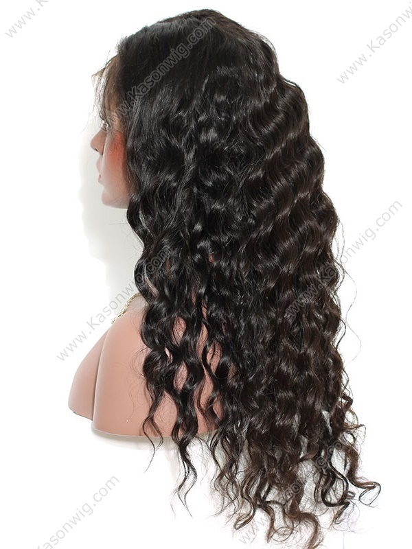 Peruvian Lace Front Wig Peruvian Body Loose Wave Virgin Human Hair Wig With Baby Hair Free Shipping