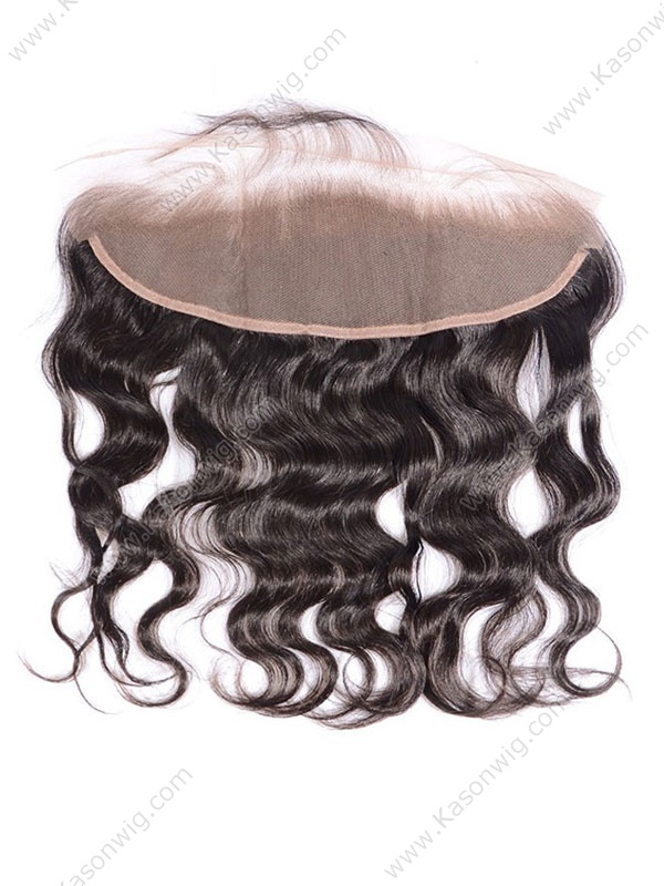 Brazilian Virgin Hair Body Wave Natural Color Closure Swiss Lace 13x4 Lace Frontal Free Shipping