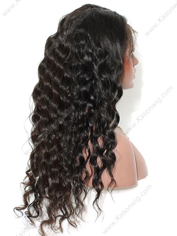 Peruvian Virgin Hair Loose Wave Human Hair Lace Wig Full Lace Wigs Human Hair With Baby Hair Natural Color Best Quality
