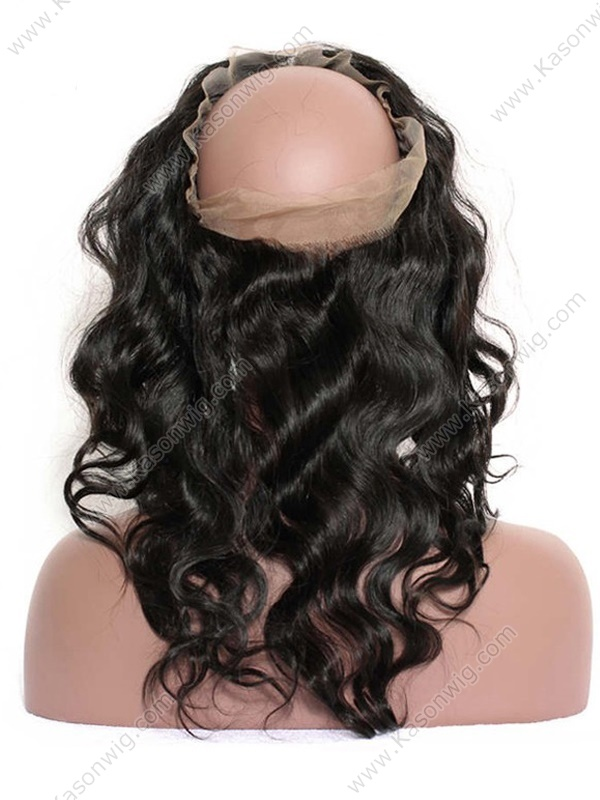 360 Lace Frontal Closure | Peruvian Lace Frontal | Body Wave Remy Hair
