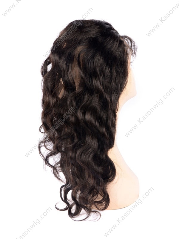 Body Wave Brazilian Virgin Hair 360 Lace Frontal Natural Color Swiss Lace Preplucked Closure With Baby Hair