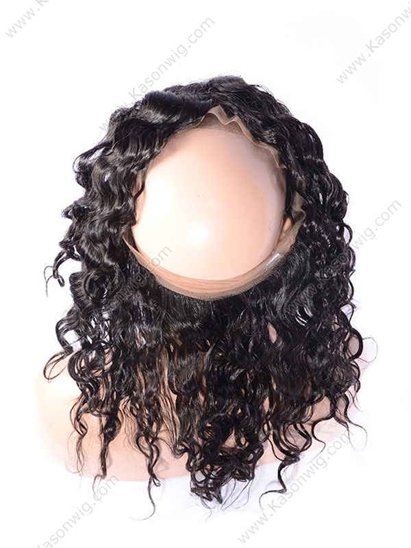 360 Lace Frontal Pre Plucked Natural Wave 360 Lace Virgin Hair Bleached Knots 360 Lace Frontal Closure Free Shipping