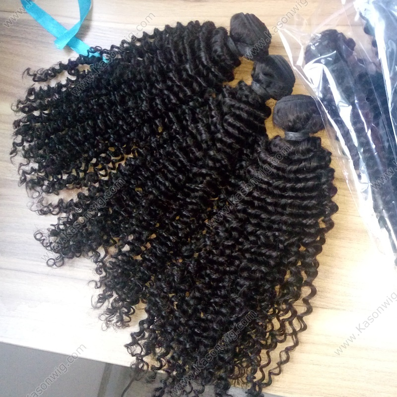 Peruvian Kinky Curly Hair Peruvian Virgin Hair Kinky Curly 3 Bundles Weave Natural Color Unprocessed Human Hair