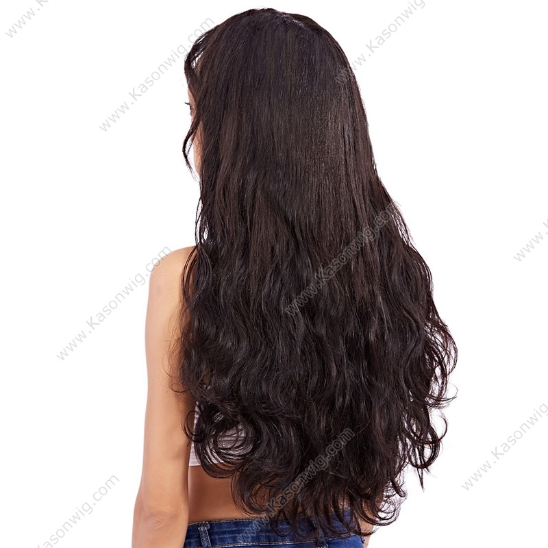 Kason Hair 1 Piece Only Brazilian Remy Hair Body Wave Natural Black Color 1B One Bundle Human Hair Weave Free Shipping
