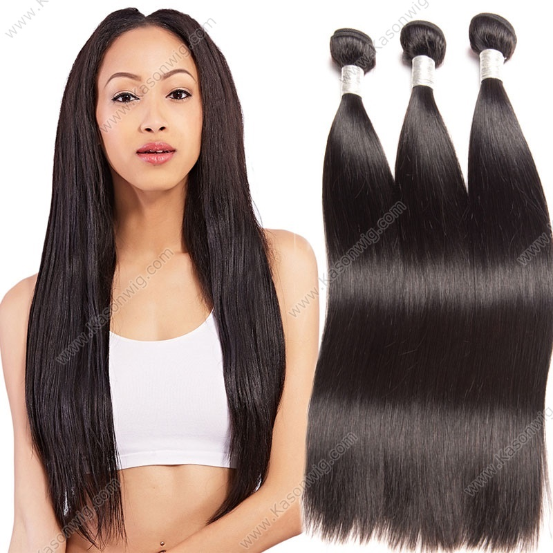 8A Brazilian Virgin Hair Straight 3 Bundles Brazillian Hair Weave Bundles Human Hair Bundles Best Brazilian Straight Hair