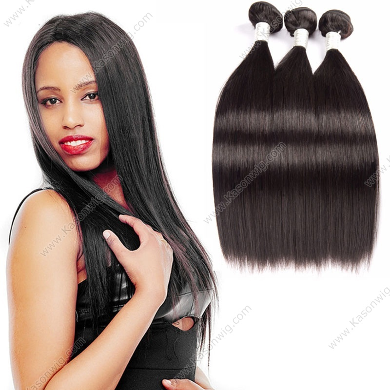 Malaysian Straight Virgin Hair 3 Bundles 100g Bundles 100% Human Hair Kason Human Hair Malaysian Virgin Hair Straight