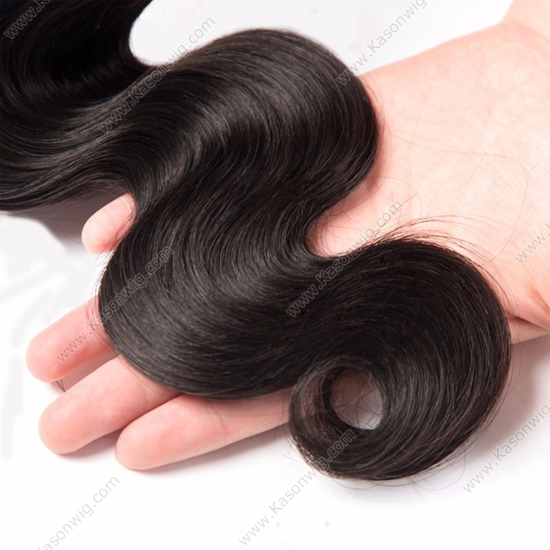 Malaysian Virgin Hair Body Wave Bundles 100% Unprocessed Human Hair Extension Natural Color