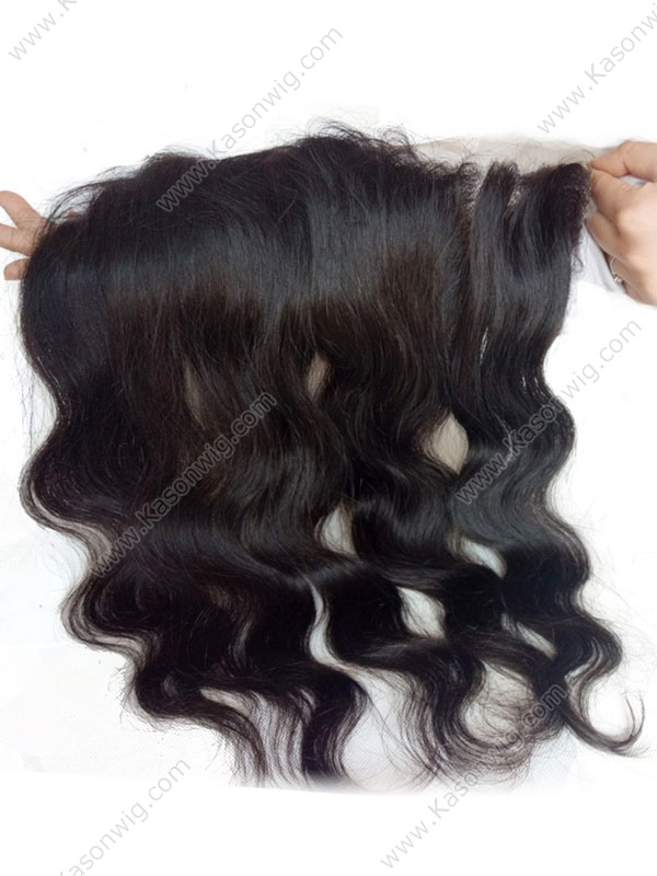 Brazilian Virgin Hair Body Wave Natural Color Closure Swiss Lace 13x6 Pre Plucked Hair Line Lace Frontal Free Shipping