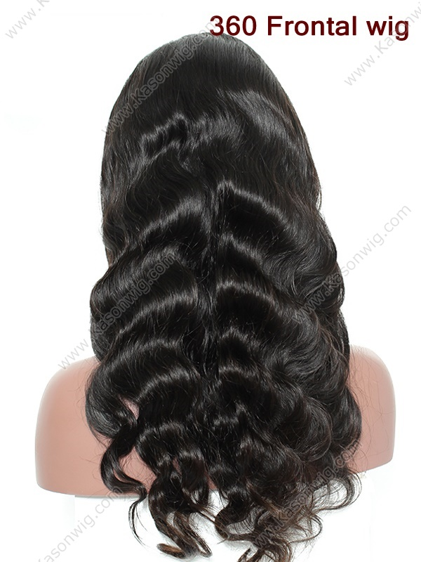 360 Frontal Human Hair Wigs Peruvian Virgin Hair Body Wave 360 Lace Frontal Wig 100% Human Hair Lace Front Wigs Black Women