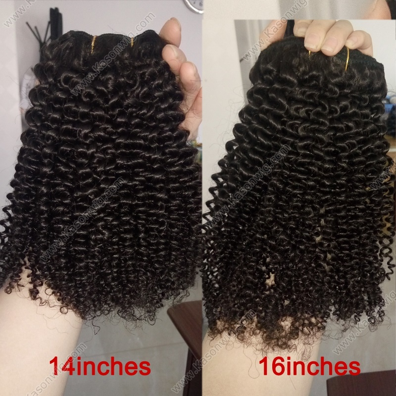 4 Bundles Tight Kinky Curly Hair Peruvian Virgin Hair Kinky Curly Human Hair Weave Extension Free Shipping Can Be Bleached
